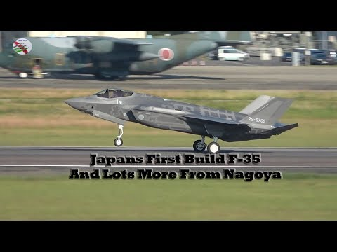 Japan's First Build F-35 Stealth Fighter - AIRSHOW WORLD