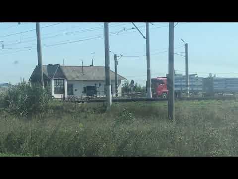 Грузовые поезда Кубани.  Песня в исполнении А. Барыкин, Г.Барыкин
