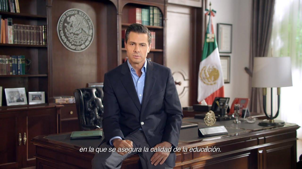Segundo informe de gobierno presidente pe a nieto m xico for Oficinas de youtube mexico