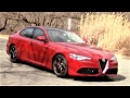 Alfa Romeo Giulia Ti Road Test & Review by Drivin' Ivan Review
