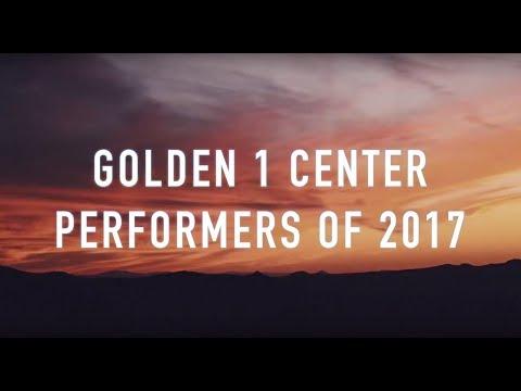 2017 Golden 1 Center Performers Mashup