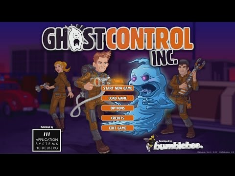 Let's Play Ghostcontrol Inc - Part 1 I Ain't Afraid of No Ghost