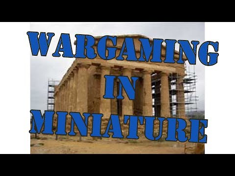 Wargaming in Miniature Building a 28mm Roman or Greek Temple Part 2