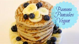 Vegan Pancakes! Only 3 ingredients!