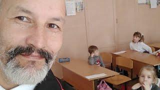 ПРОВОЖУ УРОК в школе в селе Варваровка // 12 марта 2018 года.