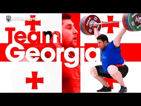 Lasha Talakhadze 🇬🇪 Team Georgia Training Hall 2016 European Weightlifting Championships