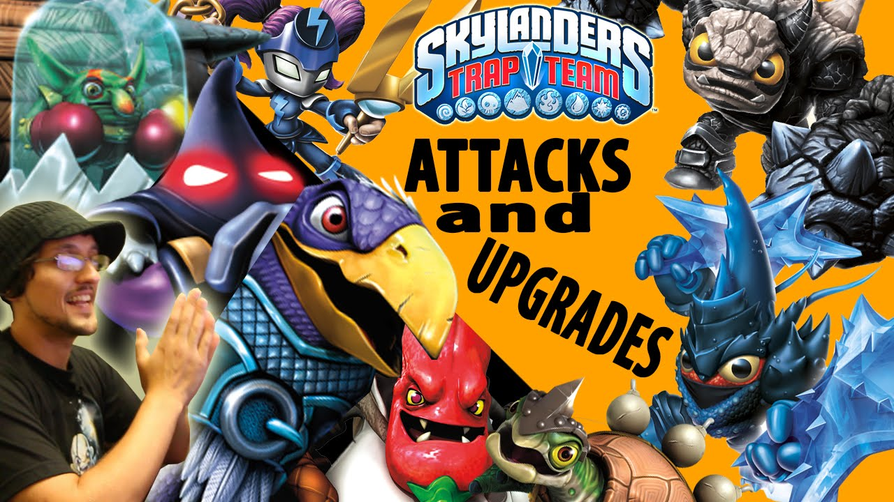 Skylanders Trap Team: Upgrades & Attacks of Hood Sickle ...