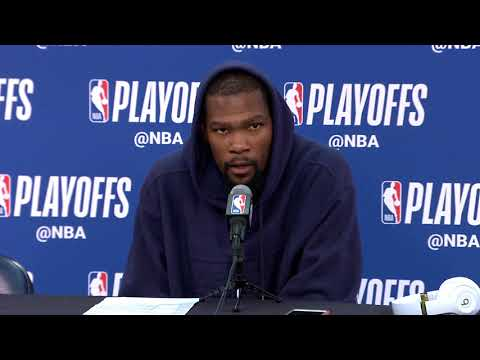 Kevin Durant Postgame Interview - Game 4 | Warriors vs Pelicans | May 6, 2018 | 2018 NBA Playoffs