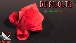 [origami Ita] Rosa Modulare || Fiori