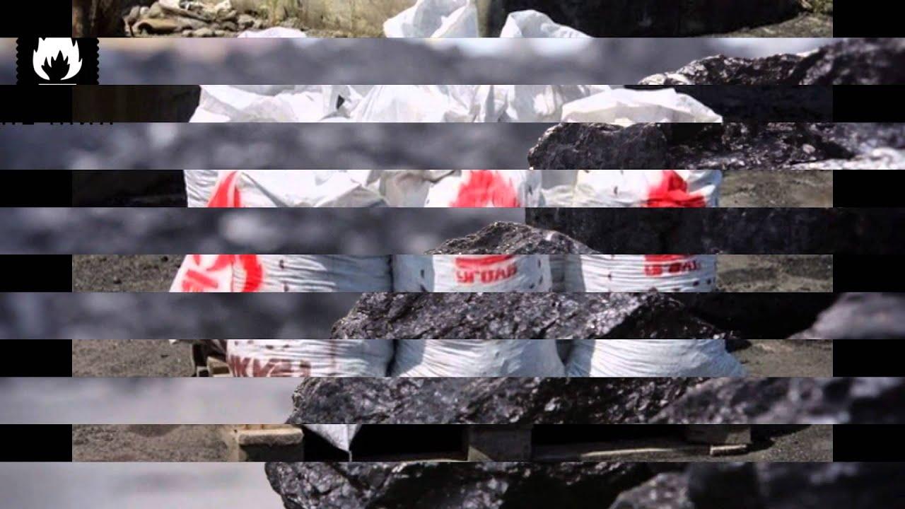 уголь каменный - YouTube