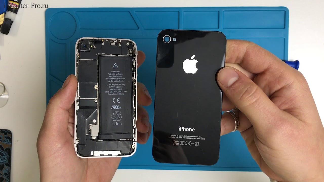 замена корпуса iphone 4 своими руками