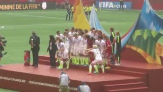USWNT World Cup 2015 Champions Final Ceremony in Vancouver