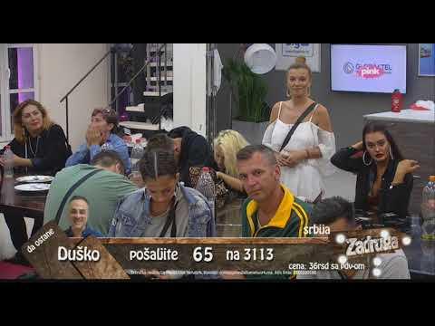 Zadruga - Kija: Volim ga, to je ljubav prema mužu - 20.05.2018.
