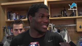 Kerryon Johnson on changes in the running back room