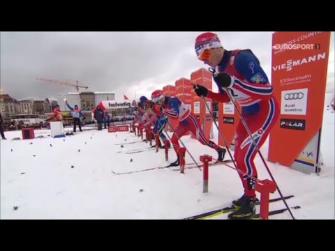 Лыжные гонки Спринт Стокгольм / Stockholm Sprints Cross-Country Skiing WC 2016 Finals 11-02-16