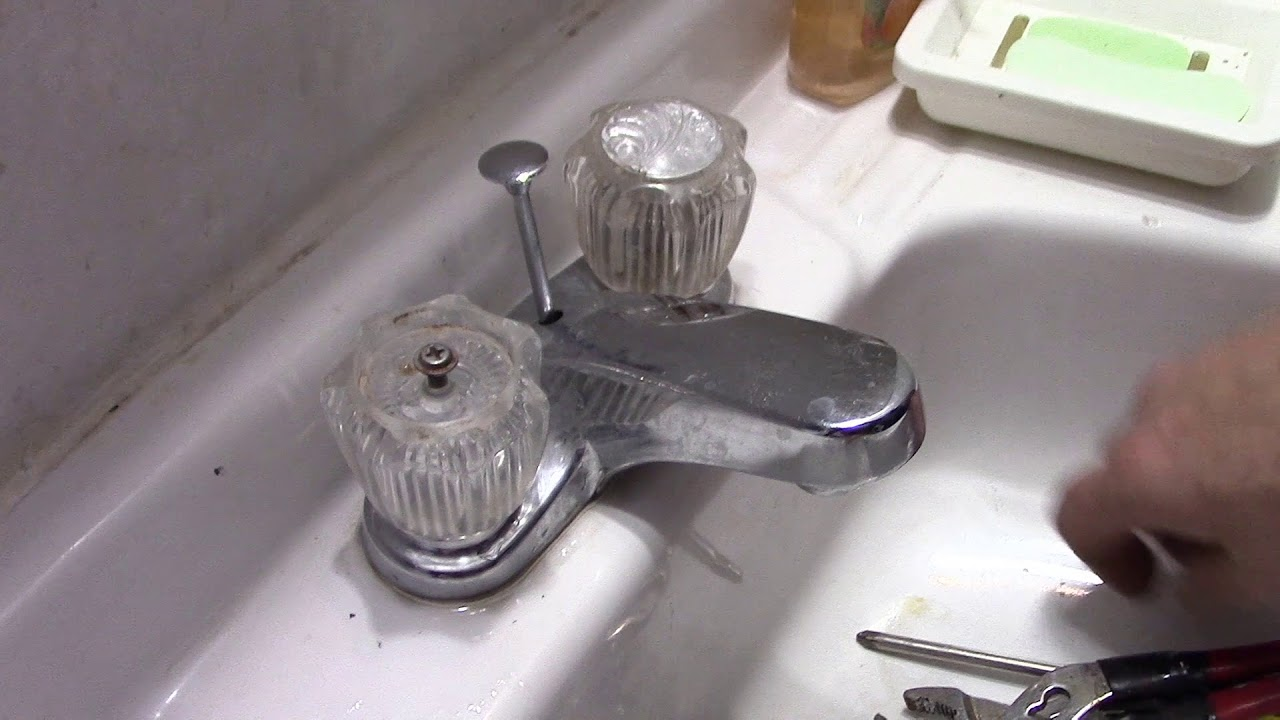 Sink Faucet Repair, Delta Bathroom Sink Drips - YouTube