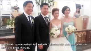 Kevin Tan and Michelle See wedding
