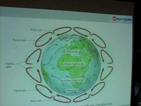 Ocean & Atmosphere - 3-Cell Atmospheric Circulation, Part 1