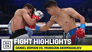 HIGHLIGHTS | Daniel Roman vs. Murojan Akhmadaliev