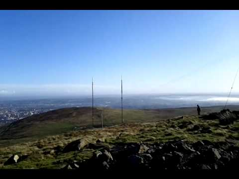 Divis Mountain top mast