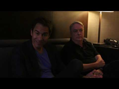 The Mind Reels chats Travelers with Eric McCormack and Brad Wright