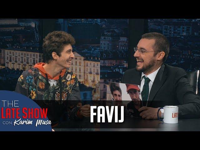La terapia di Favij