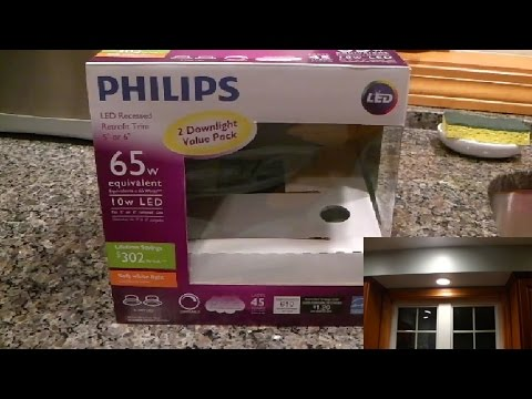 online store 38e0f 9fd8d Philips LED Retrofit Recessed Lighting Review