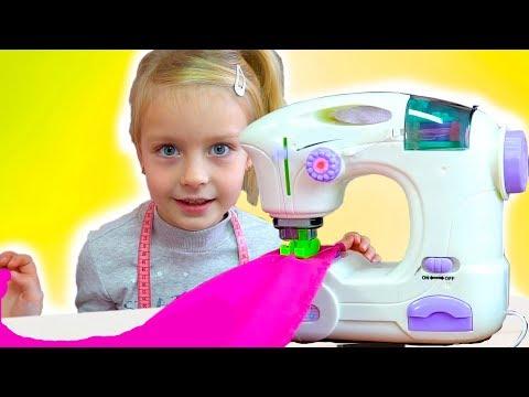 Margo Pretend Play w/ Princess Boutique & Toy Sewing Machine