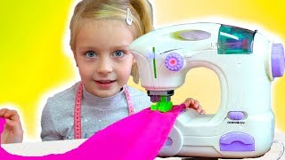Margo Play w/ Princess Boutique & Toy Sewing Machine