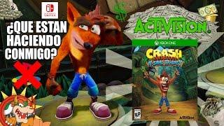 Activision Pone En Duda La Exclusividad De Crash Bandicoot N. Sane Trilogy 2017