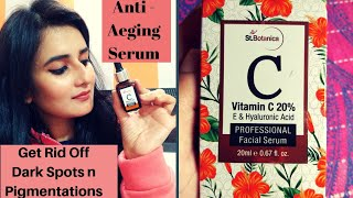 St.Botanica Vitamin C Serum  Correct Way of Applying Serum To get Glowing n Clear Skin SWATI BHAMBRA
