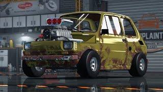 Car Mechanic Sim 2015 - Maluch Drag V6 + Tuning