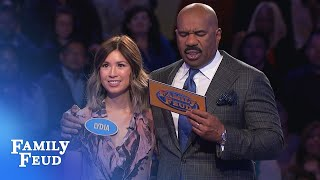 32 points needed! Only 2 answers left! | Family Feud