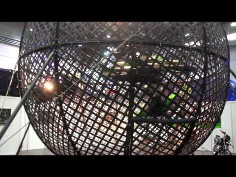 MOTORRAD MESSE LEIPZIG 2013: Globe of Speed