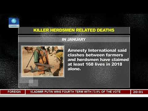 Killer Herdsmen Claims 168 Lives - Amnesty International |Politics Today|