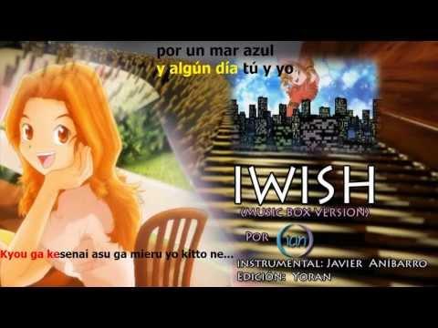 Digimon: Aim - I WIsh (Musicbox) (Karaoke) (Instrumental: Javier Anibarro Z.)