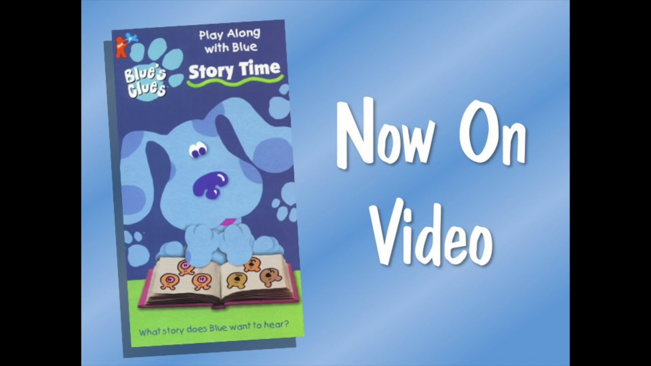Blue's Clues Story Time Short Promo - YouTube