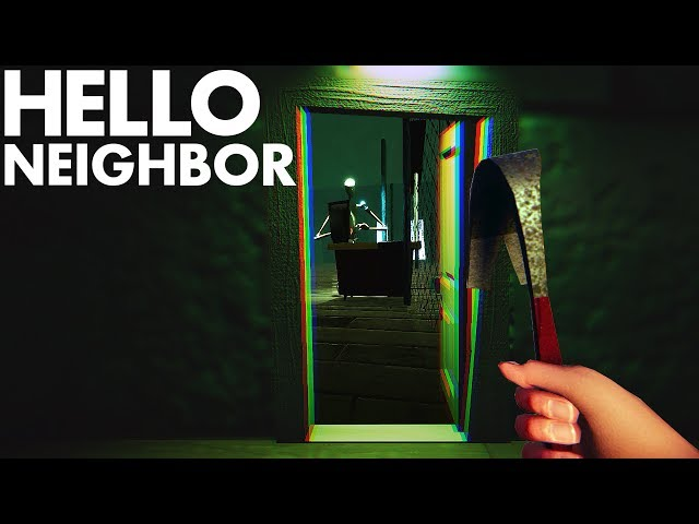 Hello Neighbor BETA - NOVI PODRUM!!!