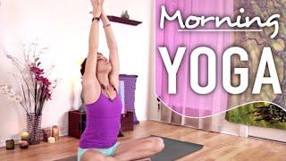 Morning Yoga For Beginners - Gentle & Relaxing Yoga for Energy