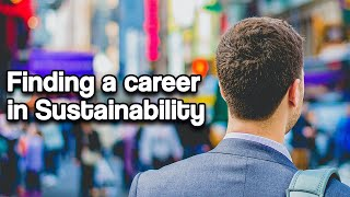 Finding A Career in Sustainability | Jules Hayward