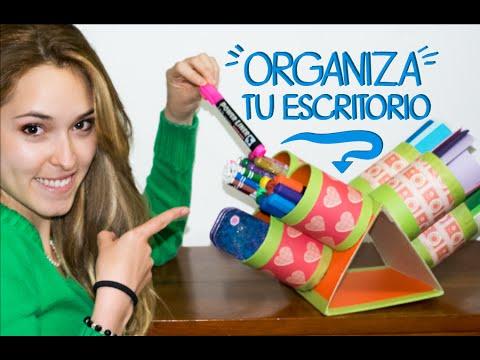 Ideas para organizar tu escritorio kika nieto youtube - Ideas para organizar tu casa ...