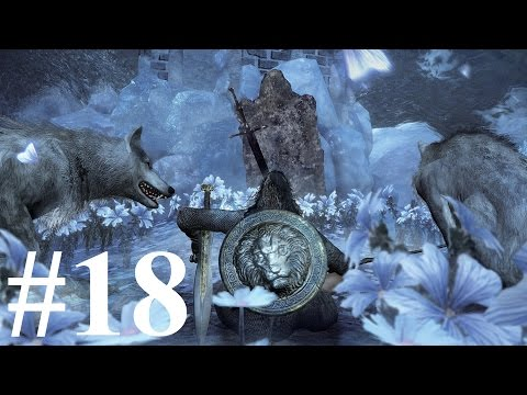 KILLING CHAMPION'S GRAVETENDER & GREATWOLF - Dark Souls 3 DLC PC Part 18 - Blind playthrough