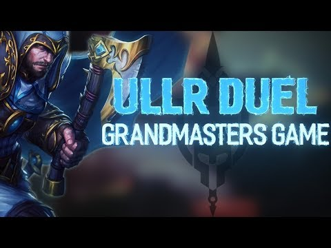 ULLR RANKED DUEL: VERSING THE MASTER NSHADOW! - Incon - Smite