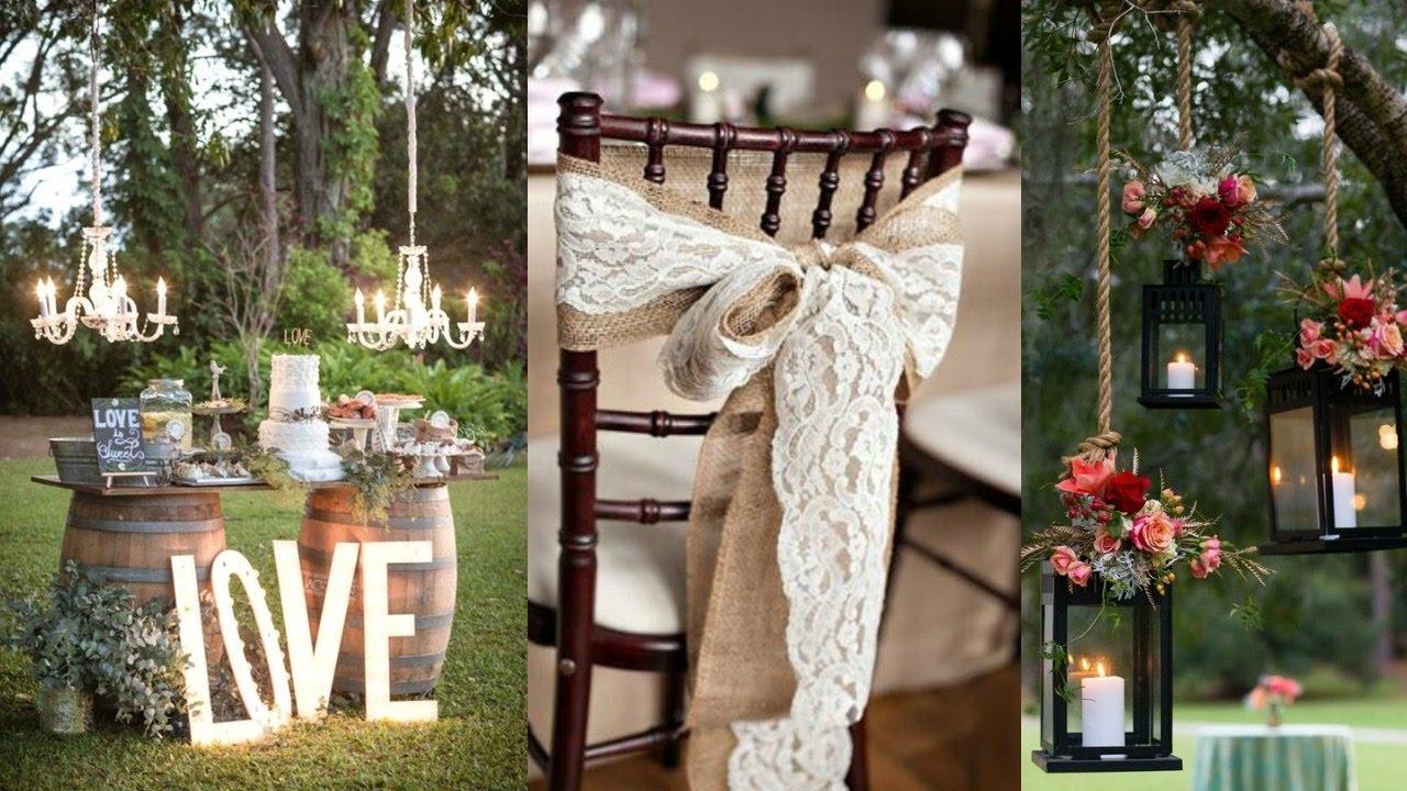 Rustic Wedding Decor Ideas & Inspiration