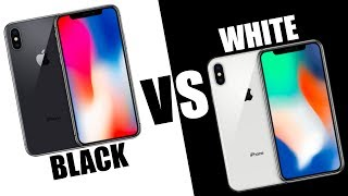 iPhone X - SPACE GREY vs SILVER