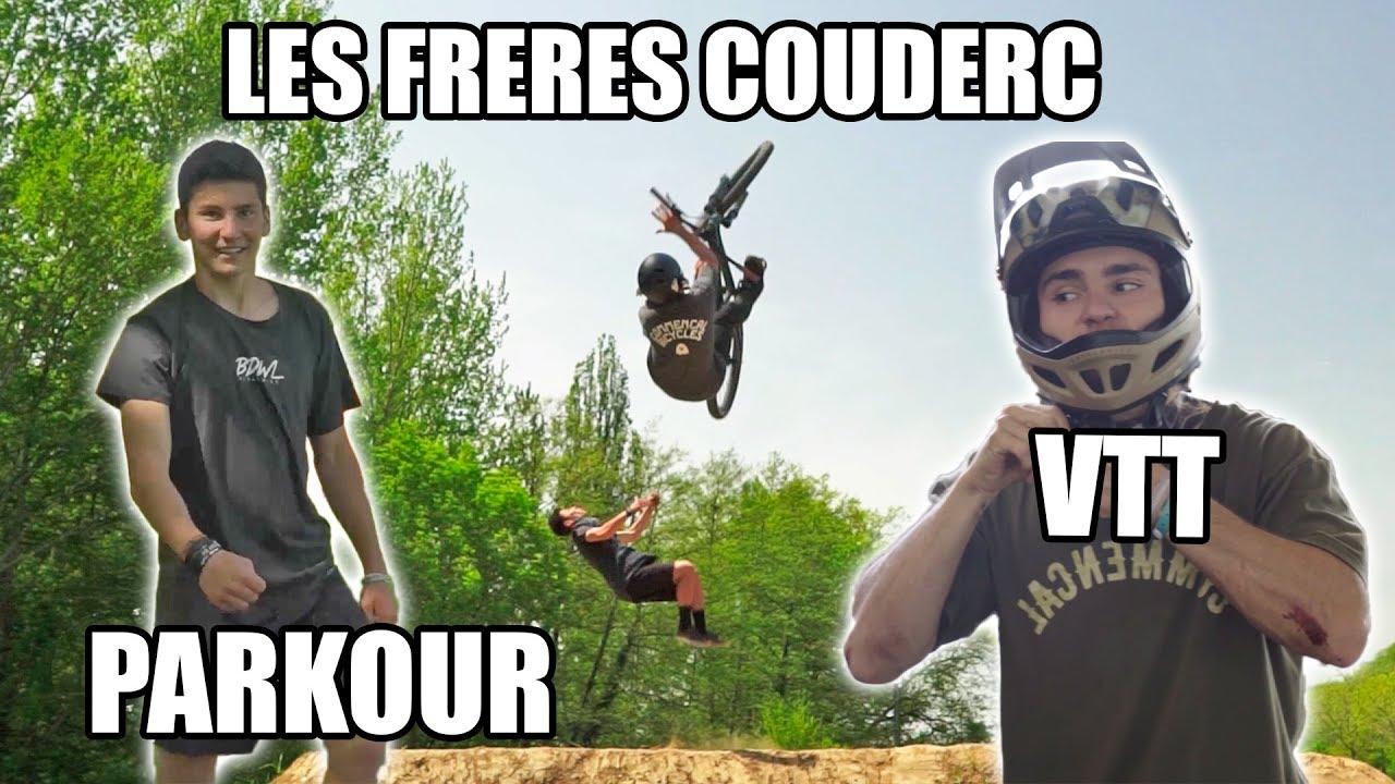 Paul & Adrien Couderc : 2 frères unis par les sports extrêmes ! (VTT & Parkour)