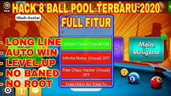 CHEAT 8 BALL POOL TERBARU 2020 || FULL FEATURED NO BANNED