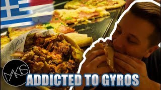 BEST PIZZA GYROS IN MY LIFE! | Makis Volos - Vlog 333