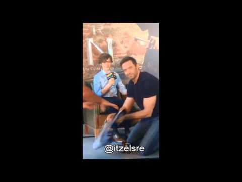 "Hugh Jackman/Levi Miller - ""Pan Movie Interview in Mexico City"""