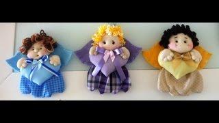 Como Fazer Boneca de Pano: Anjinhos – Bebe Mimado